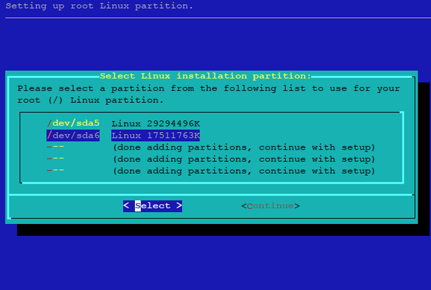 select_Partition